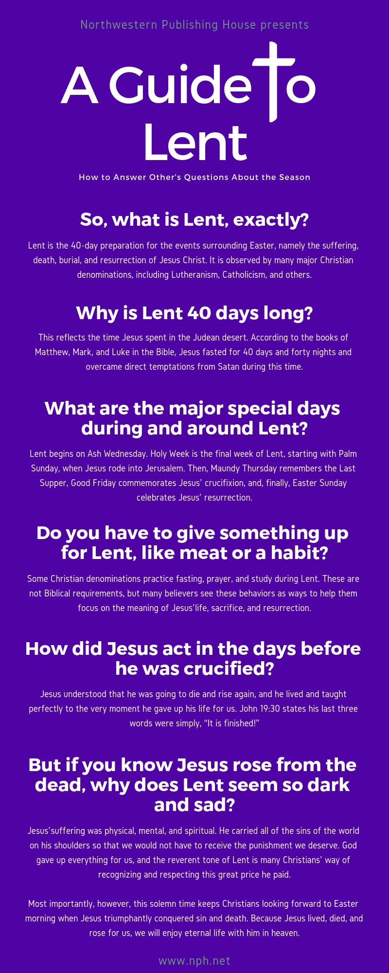Lent-Infographic
